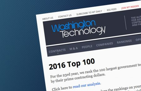 "Noblis named on ""Washington Technology Top 100"" List"