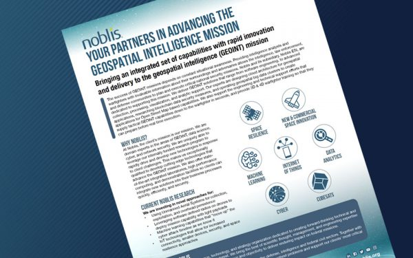 DOWNLOAD: Advancing the Geospatial Intelligence Mission