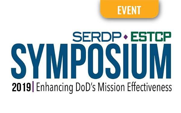 SERDP & ESTCP to Hold 3-day Symposium Centered on Enhancing DoD's Mission