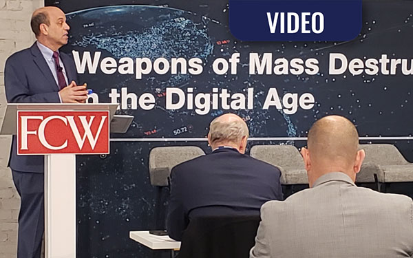 VIDEO: WMD in the Digital Age – A Holistic Approach to Countering WMD