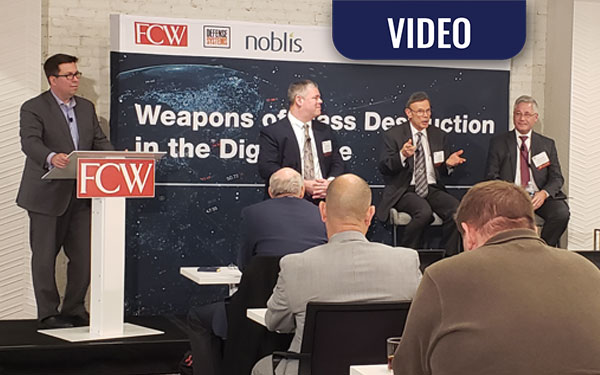 VIDEO: WMD in the Digital Age – Better Detection Tools – Beyond Traditional Sensors