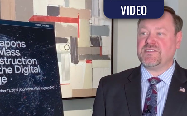 VIDEO: WMD in the Digital Age – A Conversation with Dr. Ronald Hann, Jr.