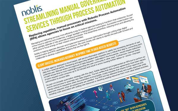 DOWNLOAD: Streamlining Manual Government Services Through Process Automation