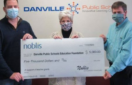 Noblis Donates $5,000 to Danville Public Schools Education Foundation to Support Instruction During Pandemic